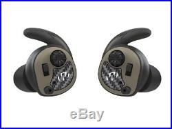 Walker's Game Ear In-Ear Razor Silencer Electronic Earbuds 25dB Flat Dark Earth
