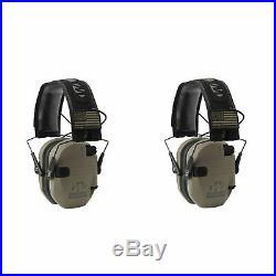 Walker's Patriot Razor Slim Shooting Ear Protection Muffs, NRR 23dB (2 Pack)