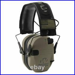 Walker's Patriot Razor Slim Shooting Ear Protection Muffs, NRR 23dB (4 Pack)