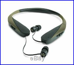 Walker's Razor Bluetooth Behind The Neck Hearing Protection Ear Buds with sou