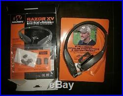 Walker's Razor Bluetooth Behind The Neck Hearing Protection Ear Buds with sound