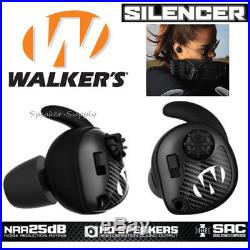 Walker's Razor Silencer Earbud Pair Shooting Range Earbuds NRR 25db GWP-SLCR