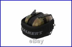 Walker's Razor Slim Electronic Shooting Muffs 3-Pack (Multi Cam Camo Tan)