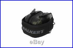 Walker's Razor Slim Electronic Shooting Muffs 5-Pack, Multi cam Camo Gray