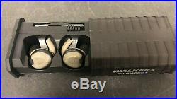 Walker's SILENCER Electronic NRR 23dB In-Ear Ear Buds GWP-SLCR-BT (PRE-OWNED)