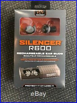 Walker's SILENCER Rechargeable Ear Buds R600 New