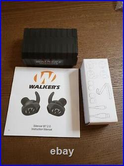 Walker's Silencer BT 2.0 Bluetooth Ear Buds GWP-SLCR2-BT