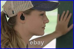 Walker's Silencer Digital Earbuds, Sound Activated Compression, NRR25dB