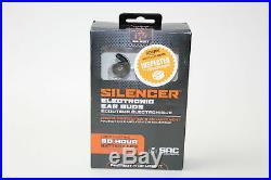 Walker's Silencer Digital Earbuds, Sound Activated Compression, NRR25dB, Dynamic