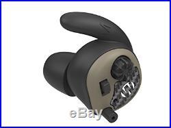 Walker's Silencer Electronic Ear Plugs NRR 25dB Flat Dark Earth Pair