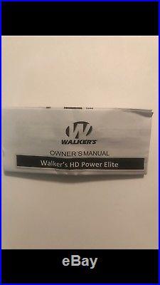 Walker's WGE-XGE4B Game Ear HD Power Elite- 29dB NRR-Beige