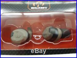 Walker's silencer bluetooth series electronic ear buds GWP-SLCR-BT