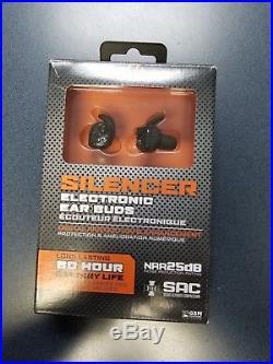 Walker's silencer electronic ear buds
