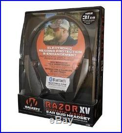Walkers Bluetooth Razor XV Neck Hearing Protection Enhancement WGE-GWP-NHE-BT