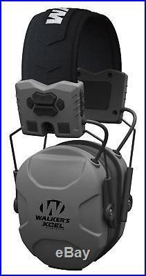 Walkers GWP-XSEM-BT Bluetooth Hearing Protection Electronic Earmuffs Grey
