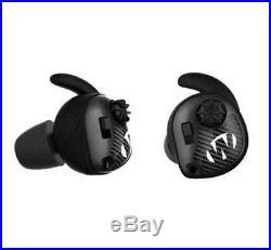Walkers Game Ear GWPSLCR Silencer Ear Buds Electronic 25dB NRR Black