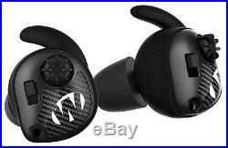 Walkers Game Ear GWPSLCR Silencer Ear Buds Electronic 25dB NRR Black/Gray