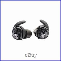 Walkers Game Ear GWPSLCR Silencer-Ear Buds Electronic 25dB NRR Black/Gray
