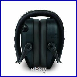 Walkers Razor Slim Electronic Muffs (Black) 2-Pack with Walkie Talkies & Glasses