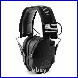 Walkers Razor Slim Shooting Ear Protection Headphones, Black Patriot (3 Pack)