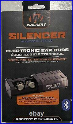 Walkers Silencer Bluetooth Series Electronic Earbuds