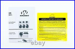 Walkers Silencer Electronic Earbuds Hearing Protection & Enhancement NRR25dB