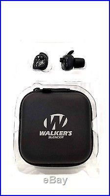 Walkers Silencer Hunting Shooting In Ear Protection Digital Ear Buds GWP-SLCR