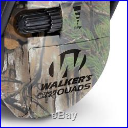 Realtree Camo Walker/'s Ultimate Hunting Shooting AFT Electric Power Muff Quads