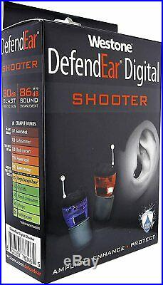 Westone DefendEar Digital Shooter Hearing Protection Ear Plugs, 78346